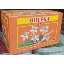 Cafe Ortega | Te Tila Lindenblütentee 25 Teebeutel je 1,1g 27g (Gran Canaria)