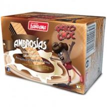 Bandama | Ambrosias Snacks Sabor Chocolate Schokoladenwaffeln 500g (Gran Canaria)