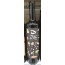 Panzaburro | Vino Tinto Joven Listan Negro Rotwein trocken 13,5% Vol. 750ml Flasche (Teneriffa)