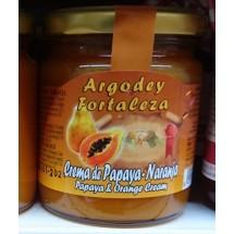 Argodey Fortaleza | Mermelada de Papaya-Naranja Papaja-Orangen-Marmelade 200g (Teneriffa)