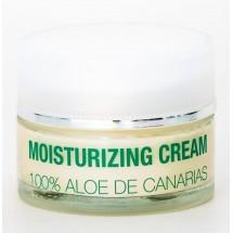 Alma de Canarias | Aloe Vera Moisturizing Cream Noche Gesichtscreme Nacht 50ml Glas (Lanzarote)