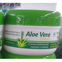 Aloe Vera Domar | Crema hydratante cuerpo y manos Feuchtigkeitscreme Körper und Hände 200ml Dose (Teneriffa)