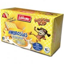 Bandama | Ambrosias Snacks Ambrosia Kids Sabor Limon Waffeln mit Zitronencreme 8 Stück 224g (Gran Canaria)