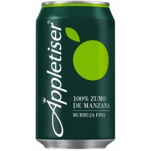 Appletiser   Apfelschorle Apfelsaft mit Kohlensäure 330ml Dose (Teneriffa)