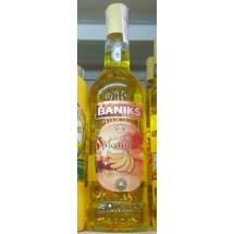 Baniks   Licor de Platano Islas Canarias Bananenlikör 20% Vol. 1l Glasflasche (Gran Canaria)