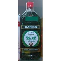 Baniks   Menta Liqueur Peppermint Pfefferminzlikör 20% Vol. 1l PET-Flasche (Gran Canaria)