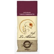 Cafe la Aldeana | Cafe Molido Tueste Torrefacto gemahlener Röstkaffee 250g Tüte angebaut auf Gran Canaria