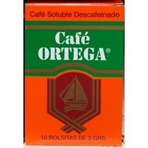 Cafe Ortega   Cafe Soluble Descafeinado entkoffeinierter Instant-Kaffee 2gx10 Portionen 20g (Gran Canaria)