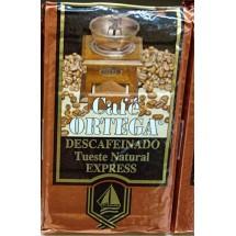 Cafe Ortega | Descafeinado Cafe Tueste Natural Express Röstkaffee entkoffeiniert 250g (Gran Canaria)