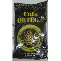 Cafe Ortega | Serie Oro Cafe de Tueste Natural  Bohnenkaffee gemahlen Tüte 1 kg (Gran Canaria)