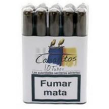 Canaritos | Tubos Puros 10 Stück Zigarren (Teneriffa)