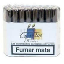 Canaritos | Tubos Puros 25 Stück Zigarren (Teneriffa)
