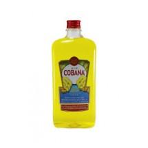 Cobana   Liqueur Banana Licor de Platano Bananenlikör 30% 1l PET-Flasche (Teneriffa)