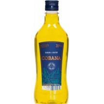 Cobana   Liqueur Banana Licor de Platano Bananenlikör 30% 500ml PET-Flasche (Teneriffa)