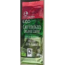 Comeztier | Eco Cafe Ecologico tueste natural molido Bio Kaffee gemahlen 250g Tüte (Teneriffa)