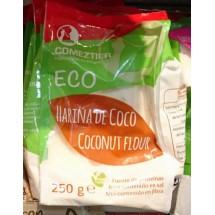 Comeztier | Harina de Coco Eco Kokosnussmehl Bio 250g Tüte (Teneriffa)