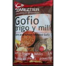 Comeztier | Gofio de Trigo y Millo Weizen- & Maismehl geröstet 1kg (Teneriffa)