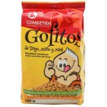 Comeztier | Gofitos de Trigo y Millo y Miel Weizen-Mais-Honig-Cereals Gofio Tüte 290g (Teneriffa)