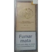 Condal No. 3 Estuche Puros 4 kanarische Zigarren in Schachtel (Gran Canaria)