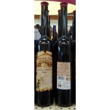 Testamento   Malvasia Aromatica Dulce Vino Tinto Rotwein lieblich 13,5% Vol. 500ml Flasche (Teneriffa)