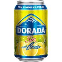 Dorada | Sin Alc. con limon Bier Radler alkoholfrei | 24x 330ml Dose Stiege (Teneriffa)
