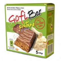 GofiBar | Platano y Coco Müsliriegel mit Gofio, Banane und Kokos 5x35g (Gran Canaria)