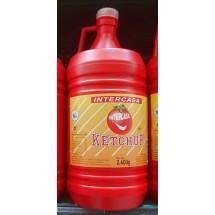 Intercasa | Ketchup große Plastikflasche 2,4kg (Gran Canaria)
