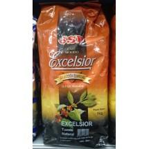 JSP | Cafe Molido Excelsior Tueste Natural Röstkaffee gemahlen Tüte 1kg (Teneriffa)
