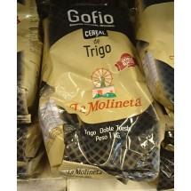 Gofio La Molineta | Gofio de Trigo Doble Tueste Weizenmehl geröstet gesalzen 1kg (Teneriffa)