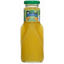 Lambda | Ecologico Naranja Bio-Orangensaft 250ml Glasflasche (Gran Canaria)