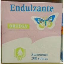 Ortega | Endulzante Süßstoff 200 Portionen/Pastillen Cyclamat/Sacharin (Gran Canaria)
