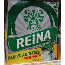 Reina | Cerveza Premium Bier 5% Vol. 6x 250ml Glasflasche (Teneriffa)