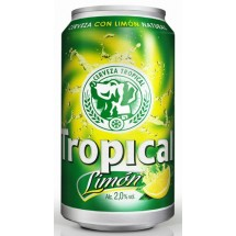Tropical | Limon Bier Radler 6x 330ml Dose 2,6% Vol. (Gran Canaria)